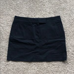 Vintage EUC J.Crew Navy chino skirt